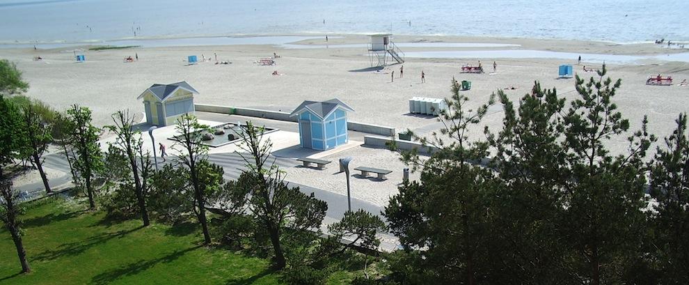 Famous Promenade in Pärnu